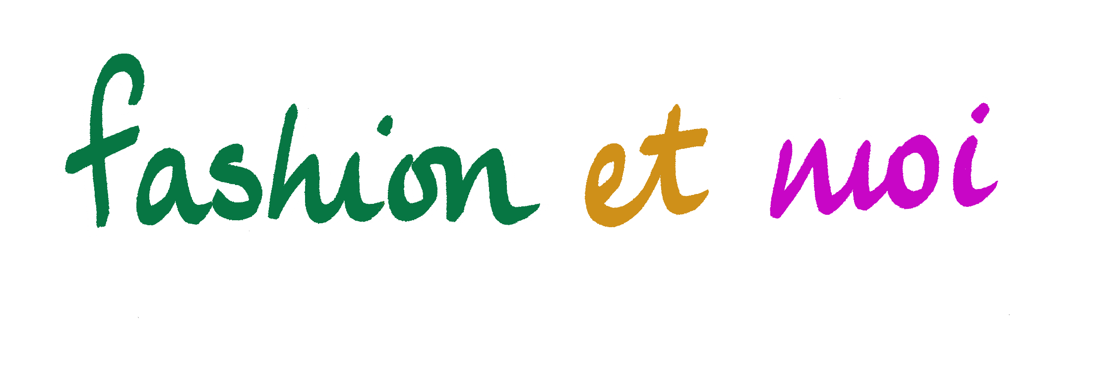 Fashion Et Moi green purple header