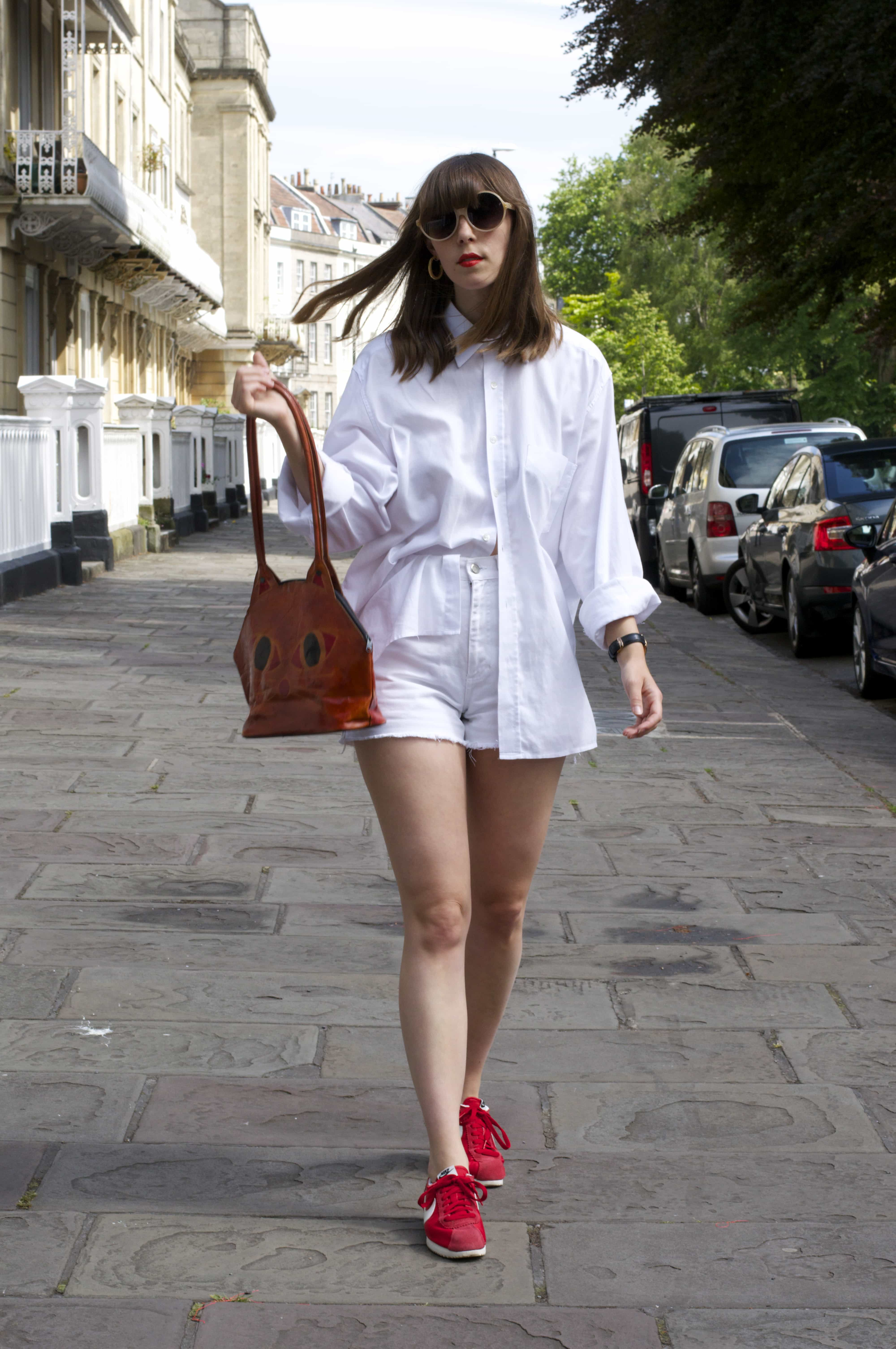 British Summer Outfit In The City
