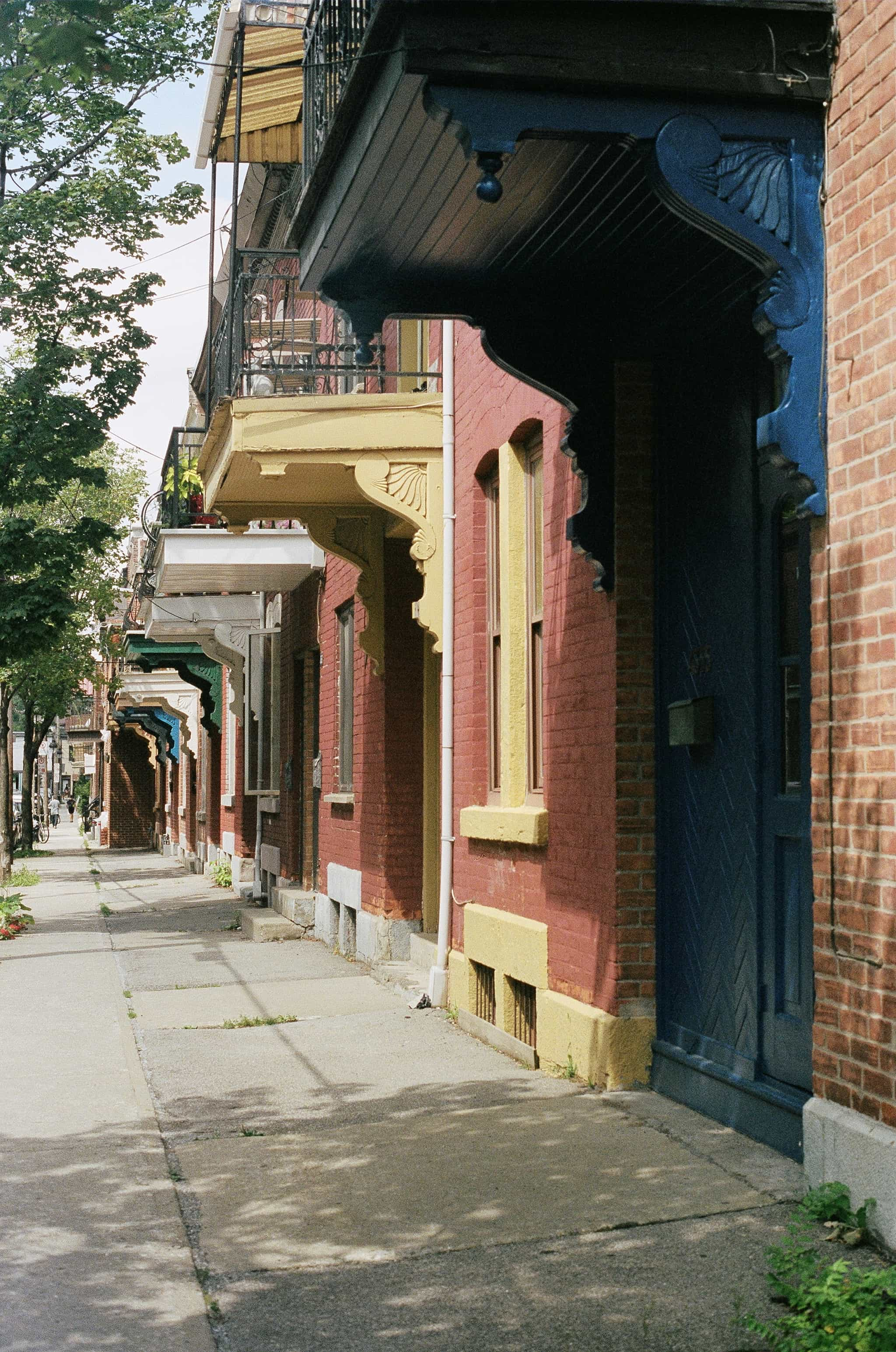 A Year In Canada On 35mm
